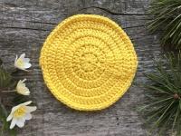 Dzeltena eko drāniņa mazgāšanai, kopšanai